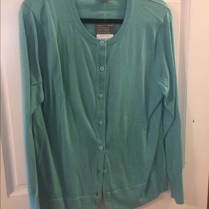 Eddie Bauer button up sweater new with tag, sz XL